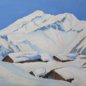 Neige, Bretaye by LECOULTRE John-Francis (1905-1990)
