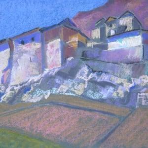 Bourg, Saillon by LECOULTRE, John-Francis (1905-1990)