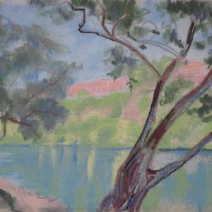 Le Rhône vers Saint-Jean by LECOULTRE, John-Francis (1905-1990)