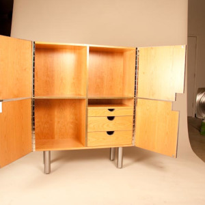 Dining Room Cabinet by Julie and Ken Girardini