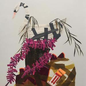 No Title (Swan Planter) by Erik Benson