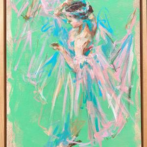 Dancer (Green) by Haidee DeRouen