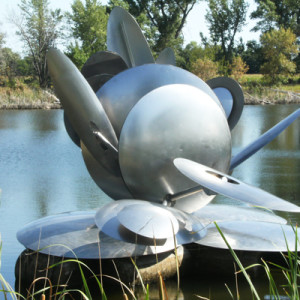 Nebraska Wind Sculpture