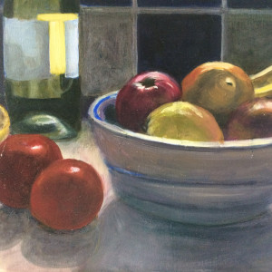 Still life with fruit bowl prvbo6