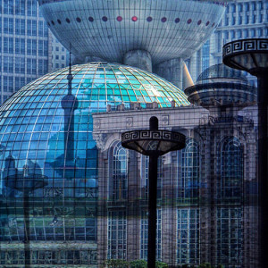 "5th Place – Overall - Shelley Benjamin - ""Shanghai Impressions"" – www.artmajeur.com/en/sbenja823/artworks"