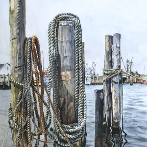 "7th Place – Overall - Lizabeth Castellano-King – ""Montauk Pier II"" - liz.castellano.king1@gmail.com"