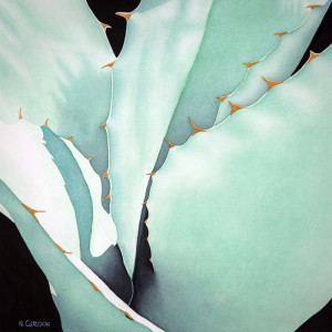 "8th Place – Overall - Nanc Gordon - ""Agave Abstraction"" – www.nancgordon.com"