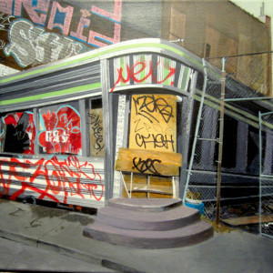 "Elliot Appel – ""West Side Diner"" - www.elliotappelpaints.com/"