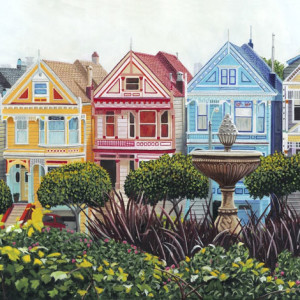 "8th  Place – Tony Podue - ""Painted Ladies"" – www.poduestudio.com"