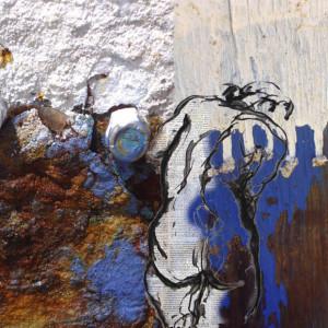 Kea Blue by Tina Psoinos