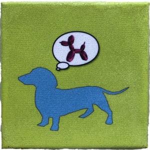 Dog  Dreams 8x8