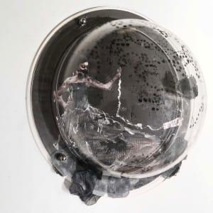 In Fashion Black Circle 33 by Tina Psoinos
