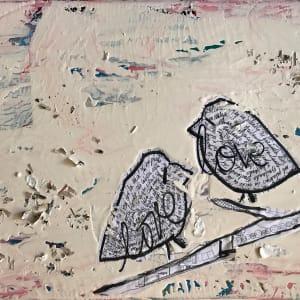 Love Birds Bailando by Tina Psoinos