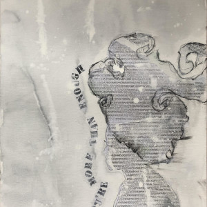 Girl You're more than enough (Gray) by Tina Psoinos