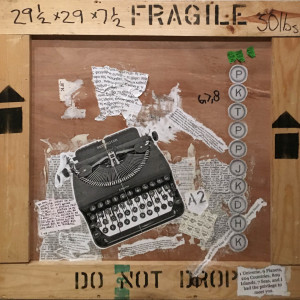 Write me a Letter (Typewriter) on Crate