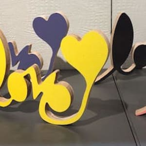 Love Sculpture Small by Tina Psoinos