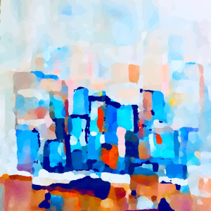 Abstract city a2wjqq