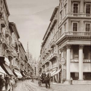 Corso vittorio emanuelle early 1900s b4zqua