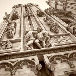 Carol acedo duomo cathedral milan italy 72x 60x2