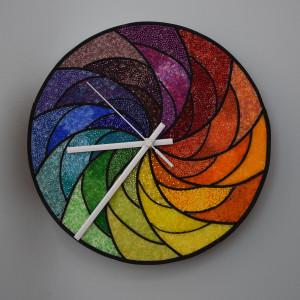 Color Wheel Clock