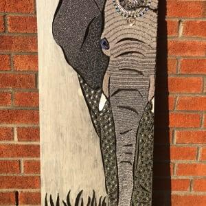 Rosie - Elephant by Sabrina Frey