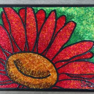 Red Daisy by Sabrina Frey