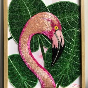 Diego- Flamingo by Sabrina Frey