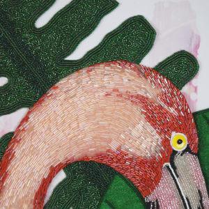Pedro - Flamingo by Sabrina Frey