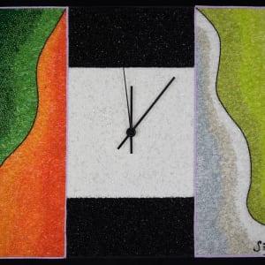 Time Passes Clock by Sabrina Frey