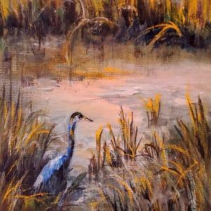 Blue Heron at Shem Creek