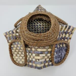 Loop Woven Basket by Roberta Condon
