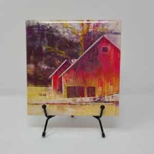 Farm Tiles (6) by Roberta Condon