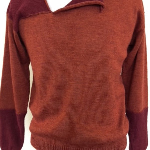 Alfred 2: Spiced Claret (Sweater) by Dennis Alfred Phillips