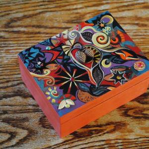 Autumn Treasure Box by Nancy Giffey