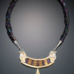 Falcon Protection Necklace by Georgia Weithe