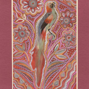 Feather Bird 30 by Mary Dickey