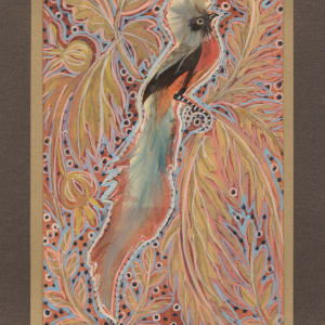 Feather Bird 39 by Mary Dickey