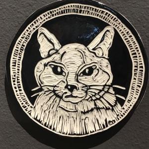 Custom Animal Portrait Plates by Briony Foy