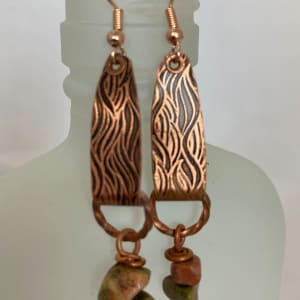 Copper Earrings (click for more design and color options) by Therese Miskulin