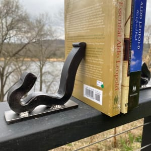 Railroad Anchor Book End by David Timberlake