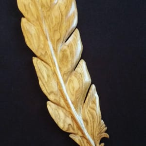 Large Feather by Homer Daehn