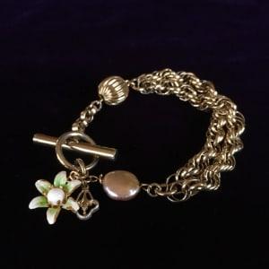 Vintage Chunky Bracelet by Luann Roberts Smith