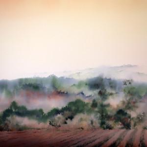 In the Valley (Framed Original)