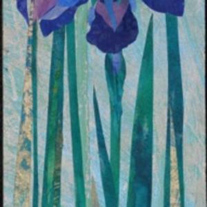 Midnight Iris (Framed Original)