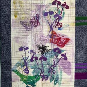 Iris Garden by Nancy B. Blake