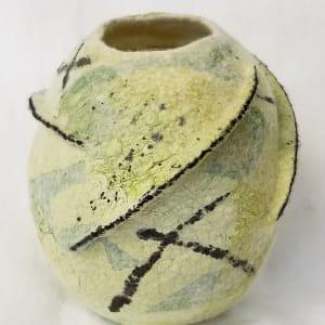 Green Tea Vessel by Janis Merkle