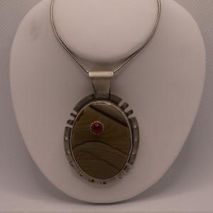 Stone on Stone Necklace