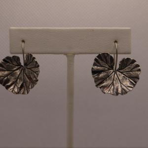 Geranium Leaf Earrings