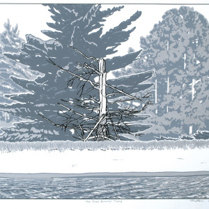 The Turn Around Tree (Unframed Screen Print) by John Miller