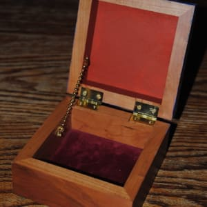 Christmas Treasure Box by Nancy Giffey